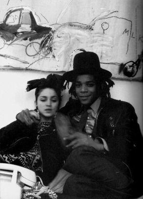 Madona et Basquiat